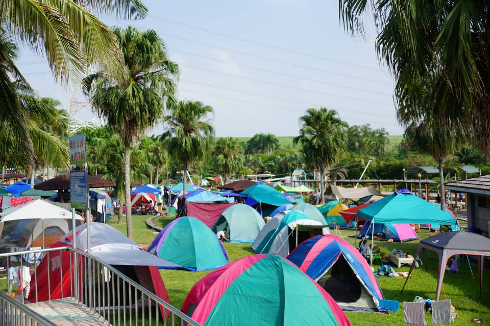 親水公園露營區